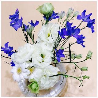 FURRERJACOT フラージャコー 青 白 花 Blue White Flower 雨 スイス 鍛造
