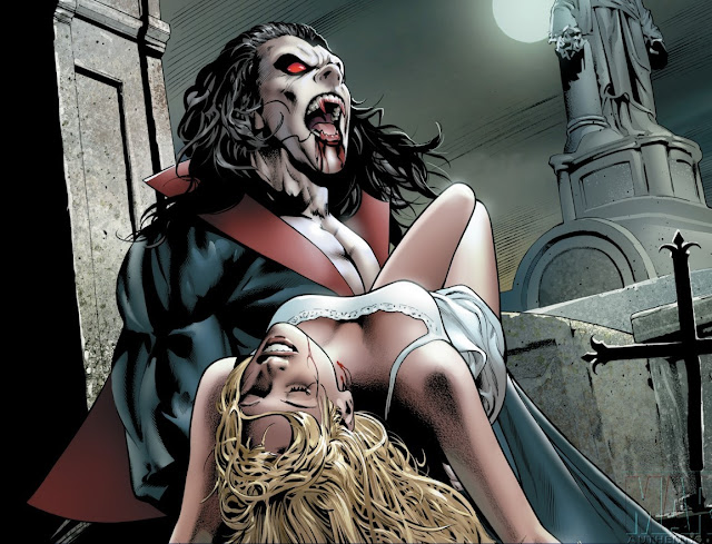 Morbius The Living Vampire image (Marvel Comics)