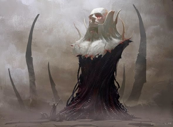Igor Kieryluk deviantart ilustrações fantasia ficção científica card games Magic the Gathering Legend of the Cryptids