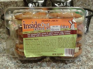 ... Good at Trader Joe's?: Trader Joe's Inside Out Carrot Cake Cookies