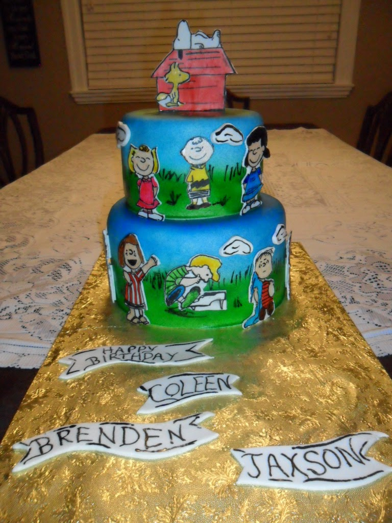 Larry The Cake Guy A Charlie Brown Birthday