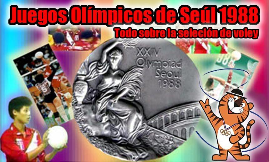Voley Peruano en Seúl 88