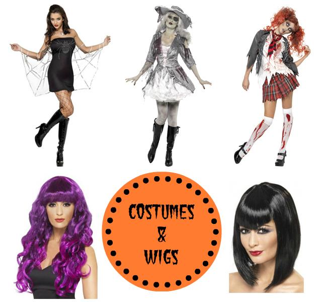 Halloween costumes and wigs 2013 Pauls Hair World