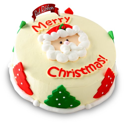 Christmas Cake Ideas Santa : Merry Christmas Cake Wallpaper
