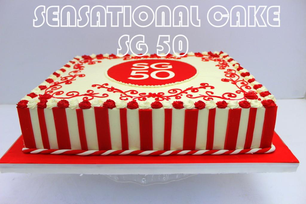 The Sensational Cakes Sensational Cakes Celebrates Sg50 For Prime