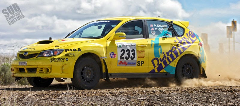 Primitive Racing WRX STI at Oregon Trail Rally