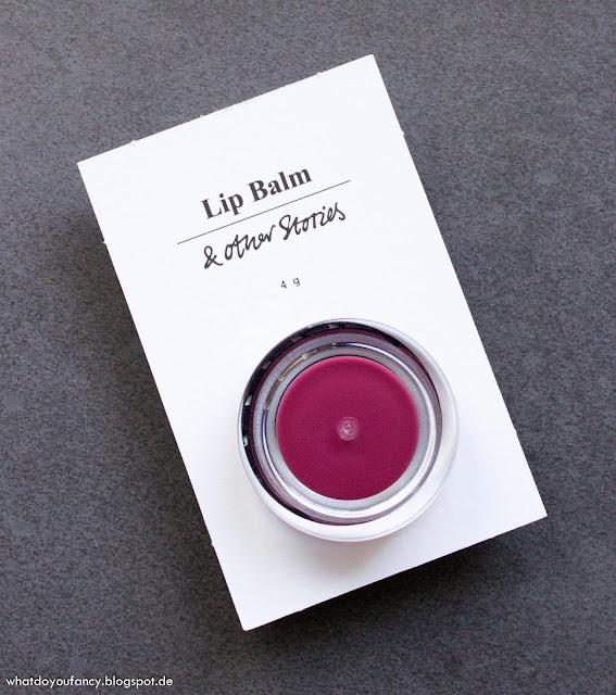 """Mein erstes Produkt von """"& Other Stories""""...duftet und schmeckt nach Vanille"""