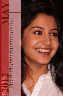 Anushka Sharma Calendar 2012 New Year 2012