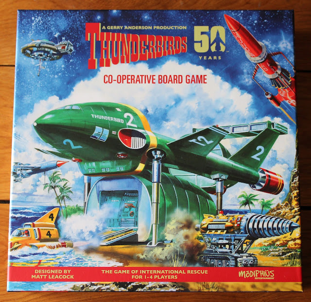 Thunderbirds Co-operative Board Game by Matt Leacock - review | Random Nerdery