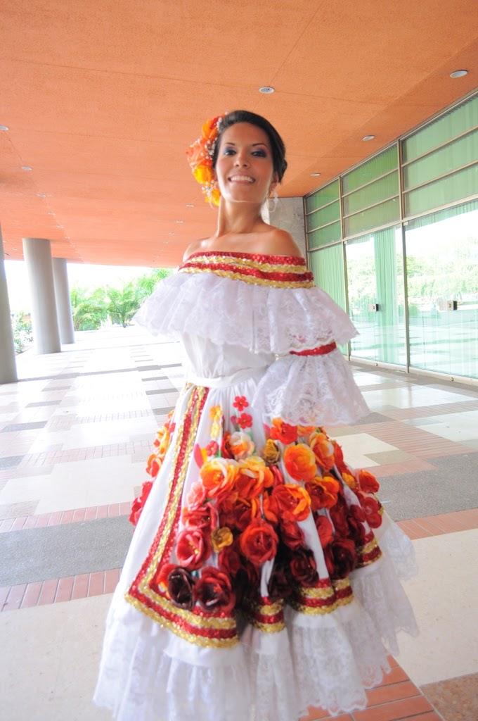 vestido típico baile el bambuco traje sanjuanero huilense mujer ...