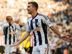 James Morrison, West Bromwich Albion midfielder