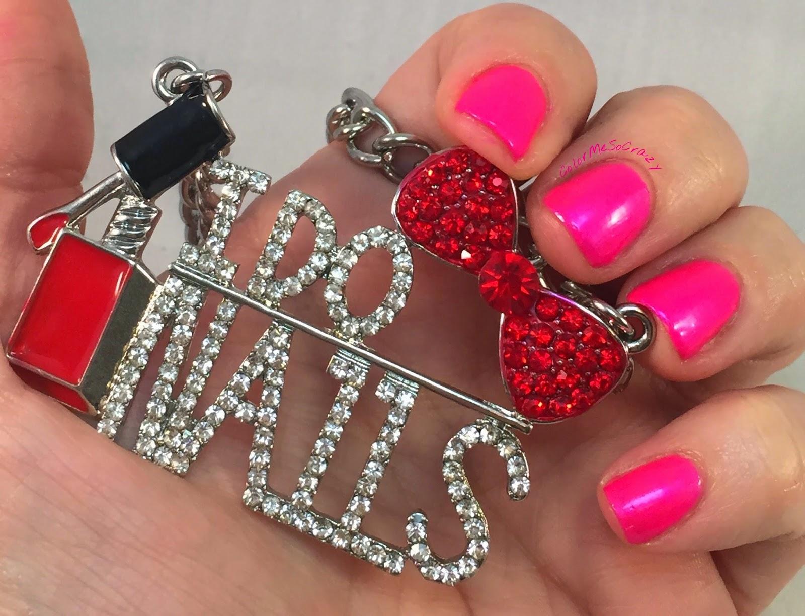 clubbing-girl-nail-polish, nail-polish-jewelry, necklace