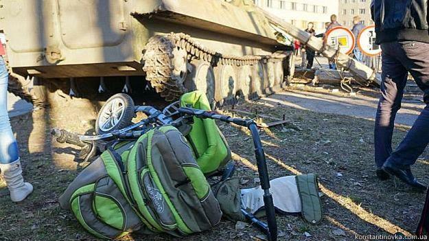 Incidente con partecipazione di militari ucraini in Kostyantynivka ha portato a disordini