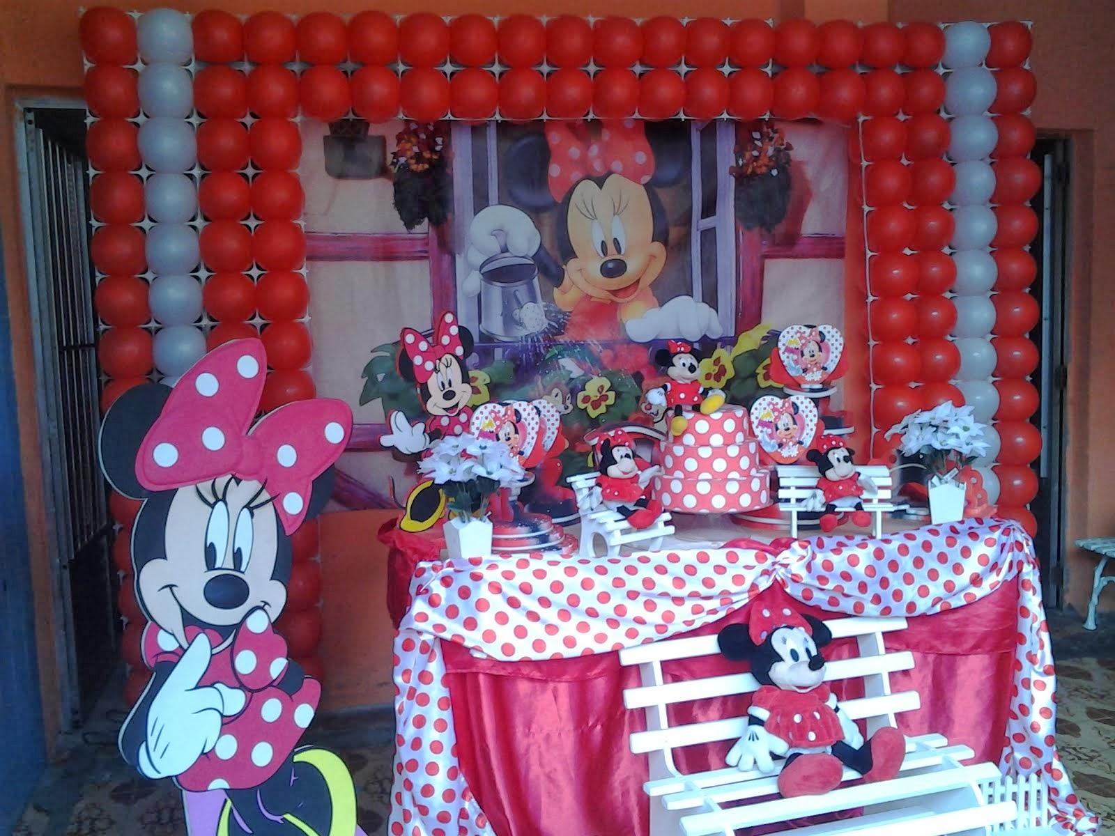Minnie Vermelha Tradicional