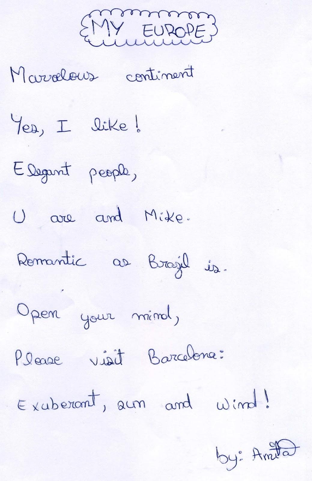 Funny homework poem