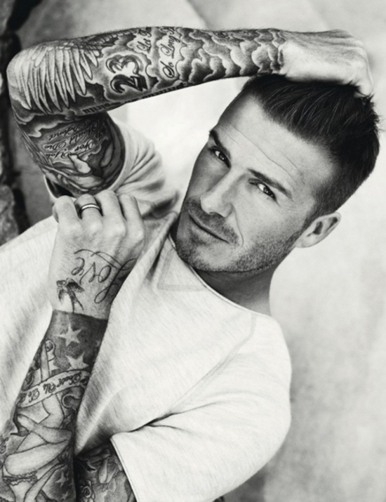 David Beckham's Tattoos, sleeve