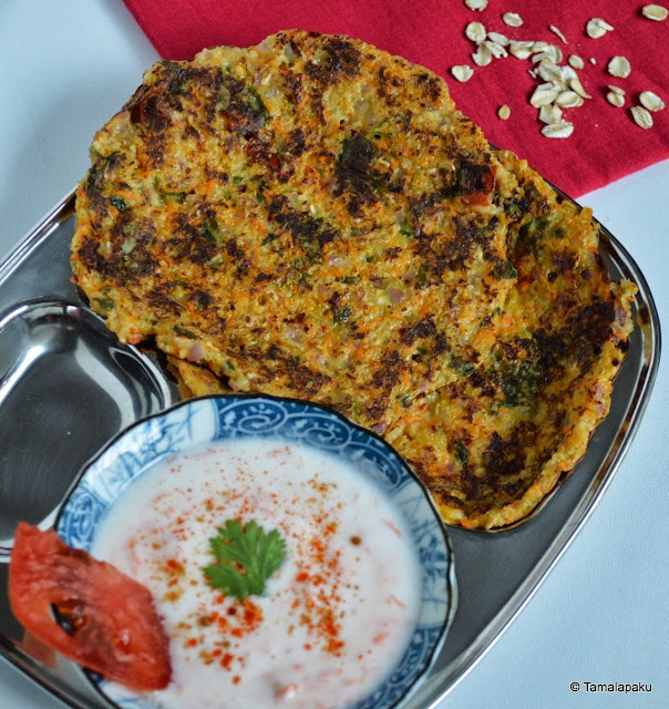 Oats - Oat Bran Cheela