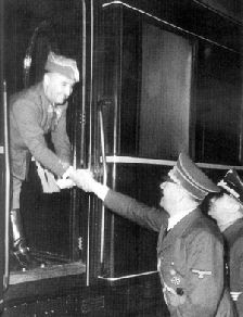 Hitler y Franco