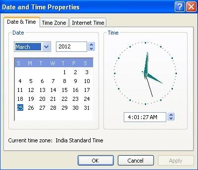 Как заменить время на компьютере