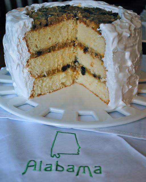 Lane Cake Encyclopedia Alabama