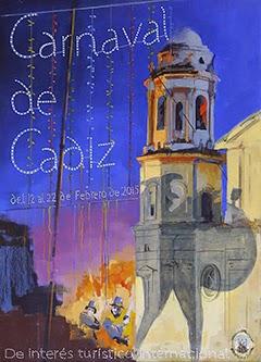 Carnaval de Cádiz 2015 - Cartel
