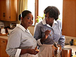 Octavia Spencer y Viola Davis en Criadas y señoras