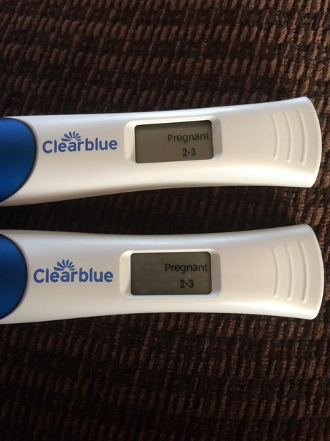 and therefore likely to be accurate regardless of this my sister went out and bought some more pregnancy tests and they all came back positive