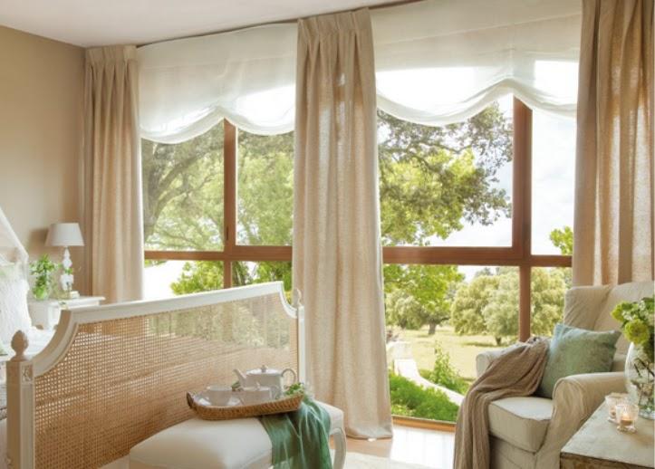 Espacio style qu son las cortinas - Estores dormitorio ...