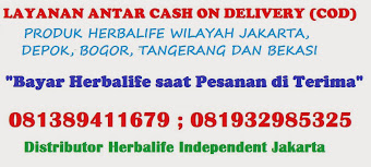 LAYANAN CASH ON DELIVERY PRODUK HERBALIFE