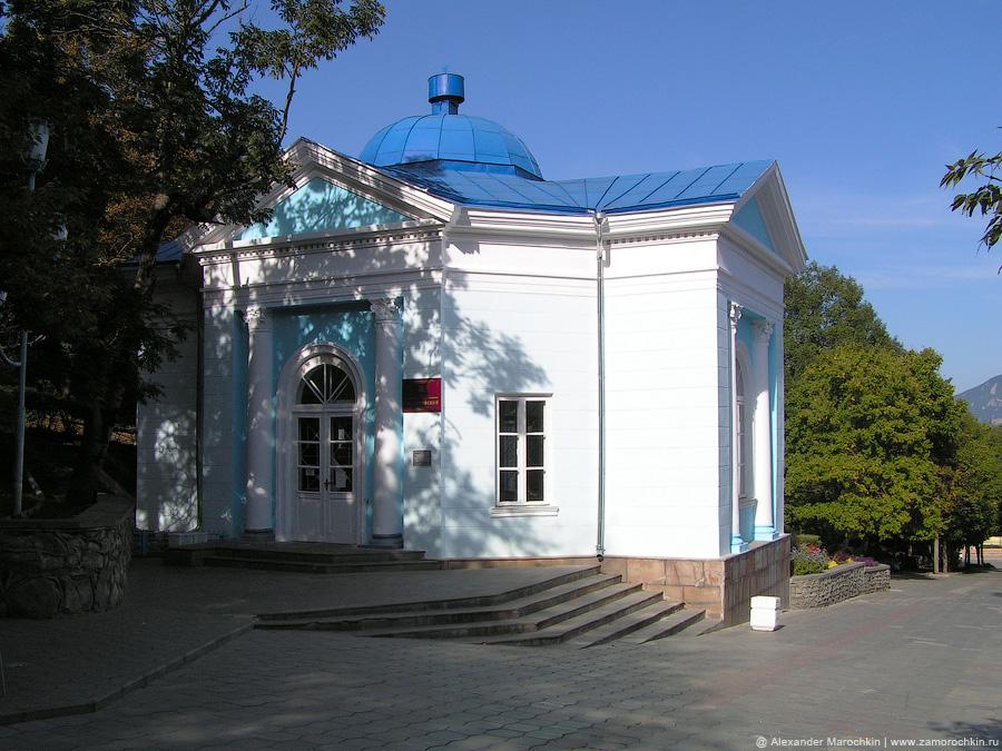 Бювет Славяновского источника минеральной воды