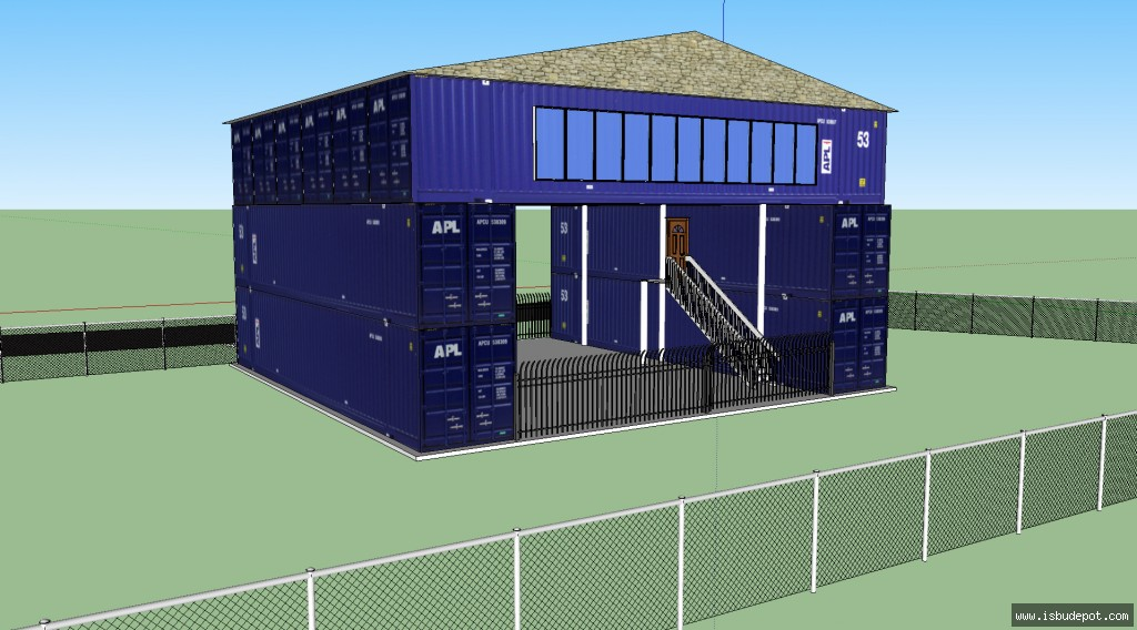 Intermodal container what is a conex box for How much to build a beach house