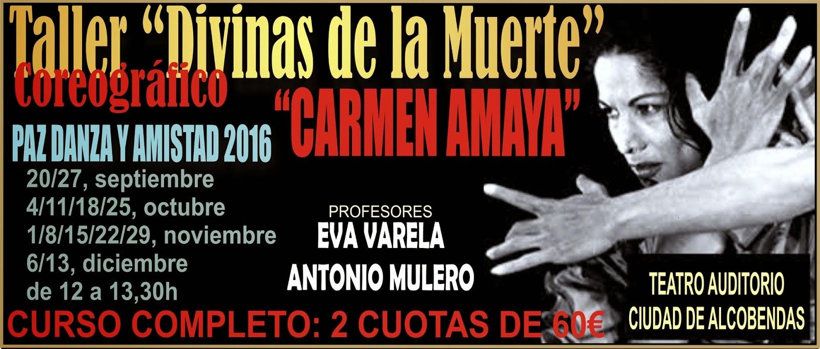 DIVINAS DE LA MUERTE- CARMEN AMAYA