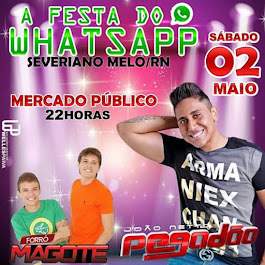 1ª Festa do WhatsApp em Severiano Melo