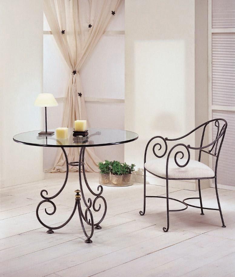 Blog de mbar muebles muebles de forja elegancia dise o - Muebles en forja ...