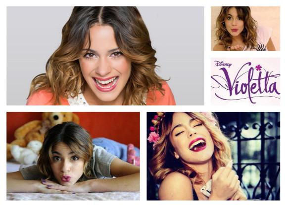 Look Violetta peinados de Martina Stoessel