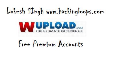wupload premium account, free wupload premium accounts, premium cookies
