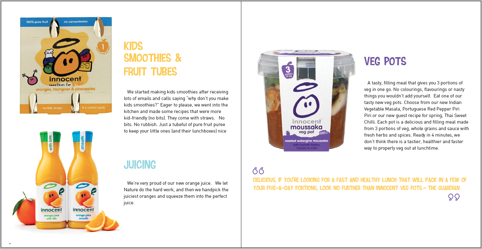 porters 5 forces and innocent smoothies How to write a good porter's 5 forces analysis  the porter's five cans and glass bottle for packaging soft drinks there may also be potential threat of new.