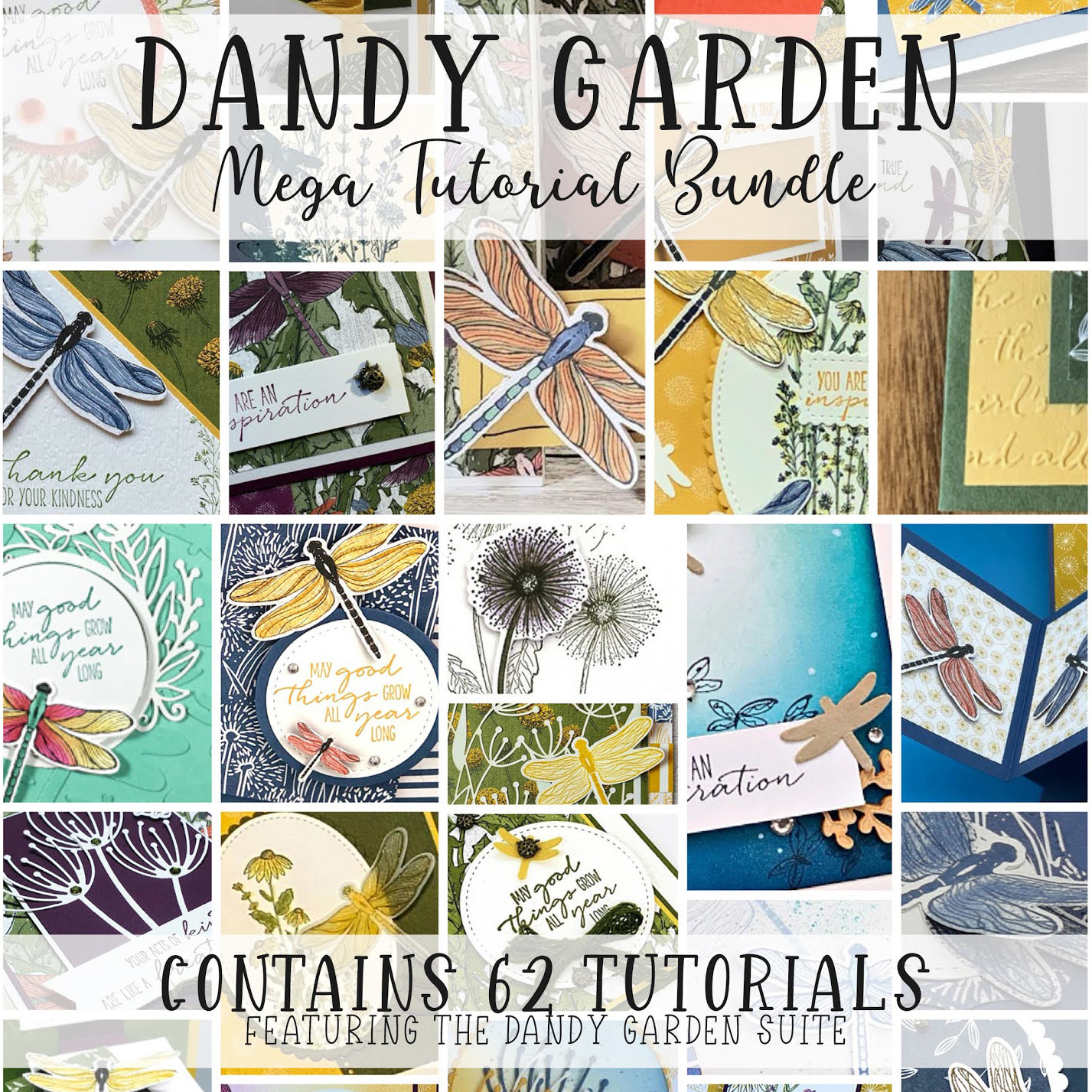 Dandy Garden Tutorials
