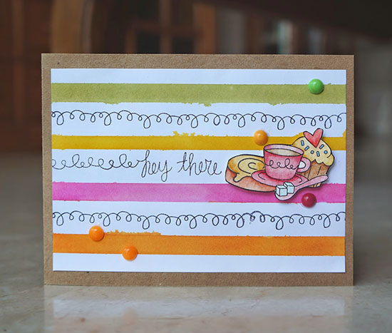 Top Pick for Inky Paws Challenge #11 - Citrus Colors  - Food Stamp Set by Newton's Nook designs