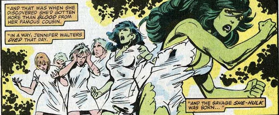 Ultimate She Hulk Transformation Images & Pictures - Becuo