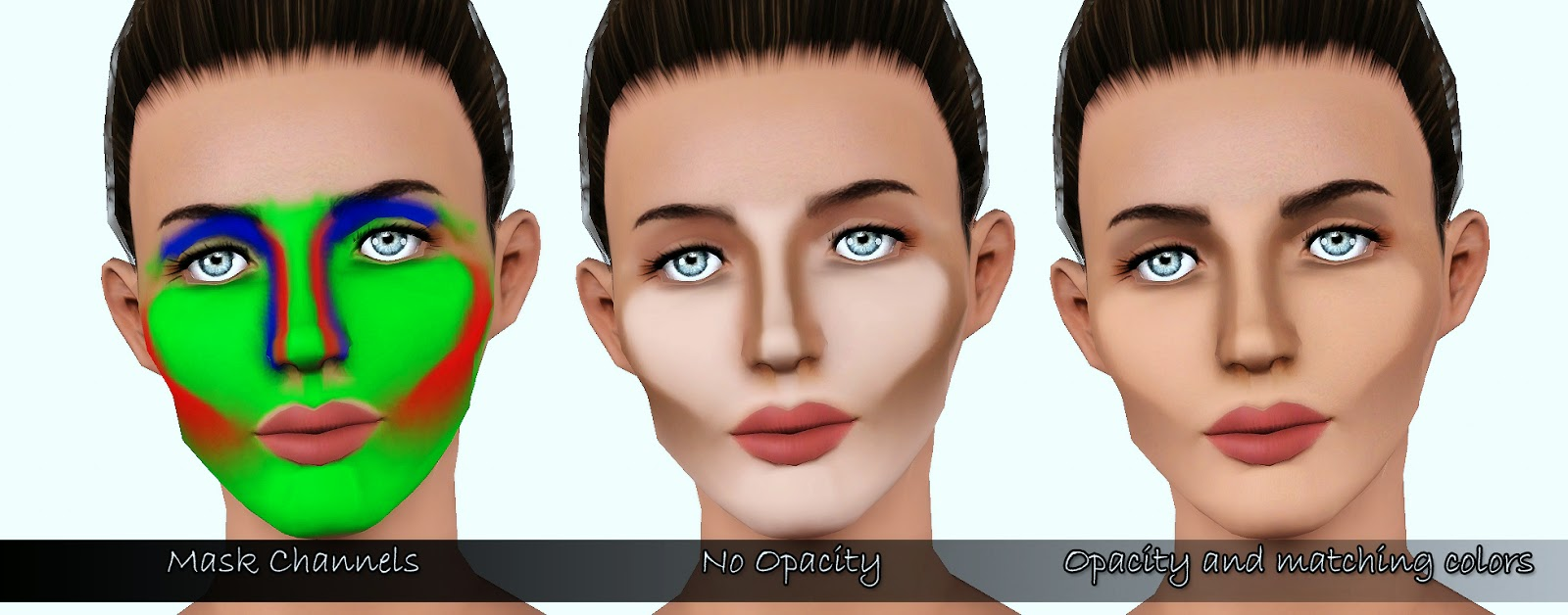My Sims 3 Blog Full Face Contouring Blush By Cleos