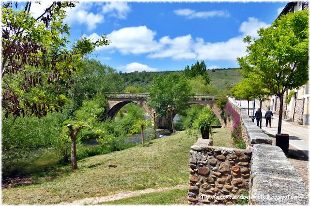 Puente sobre el río Arlanza, Covarrubias