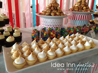 birthday party desserts bar