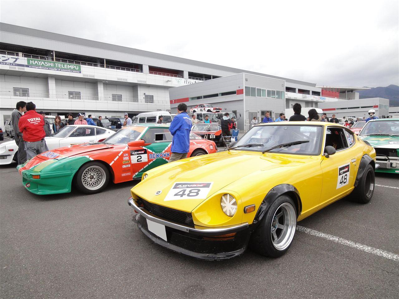 Mazda RX-7 & Nissan Fairlady Z S30