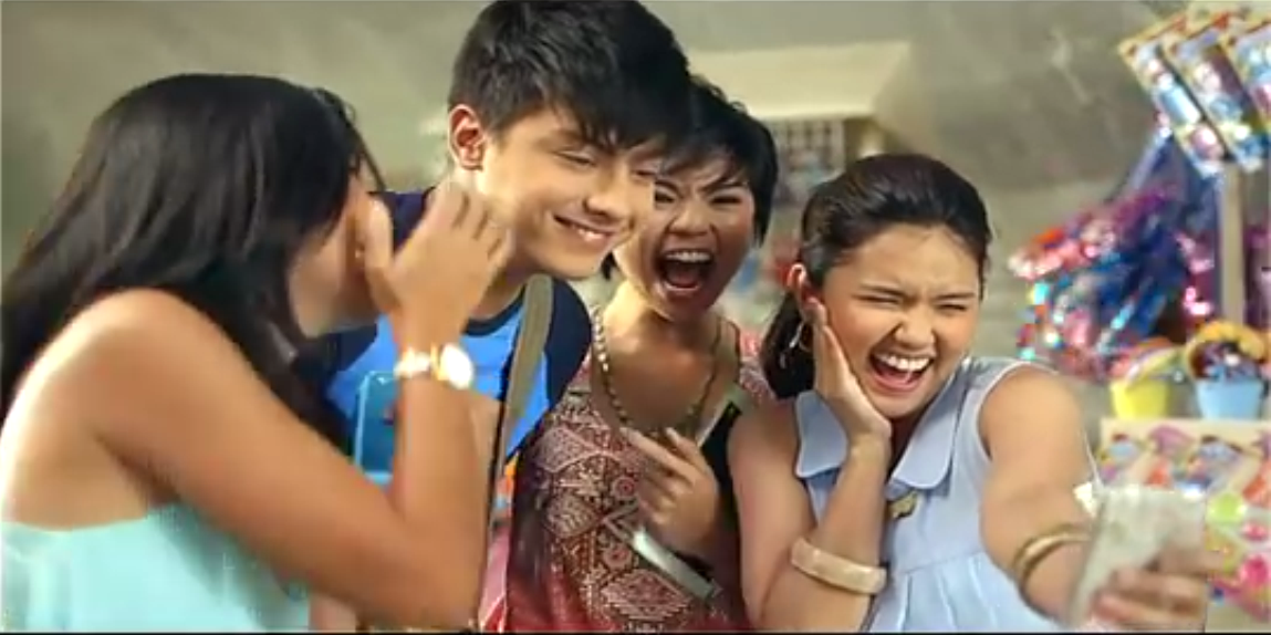 Daniel Padilla and Julia Barretto as the new Pepsi Philippines' featured cast for comercial
