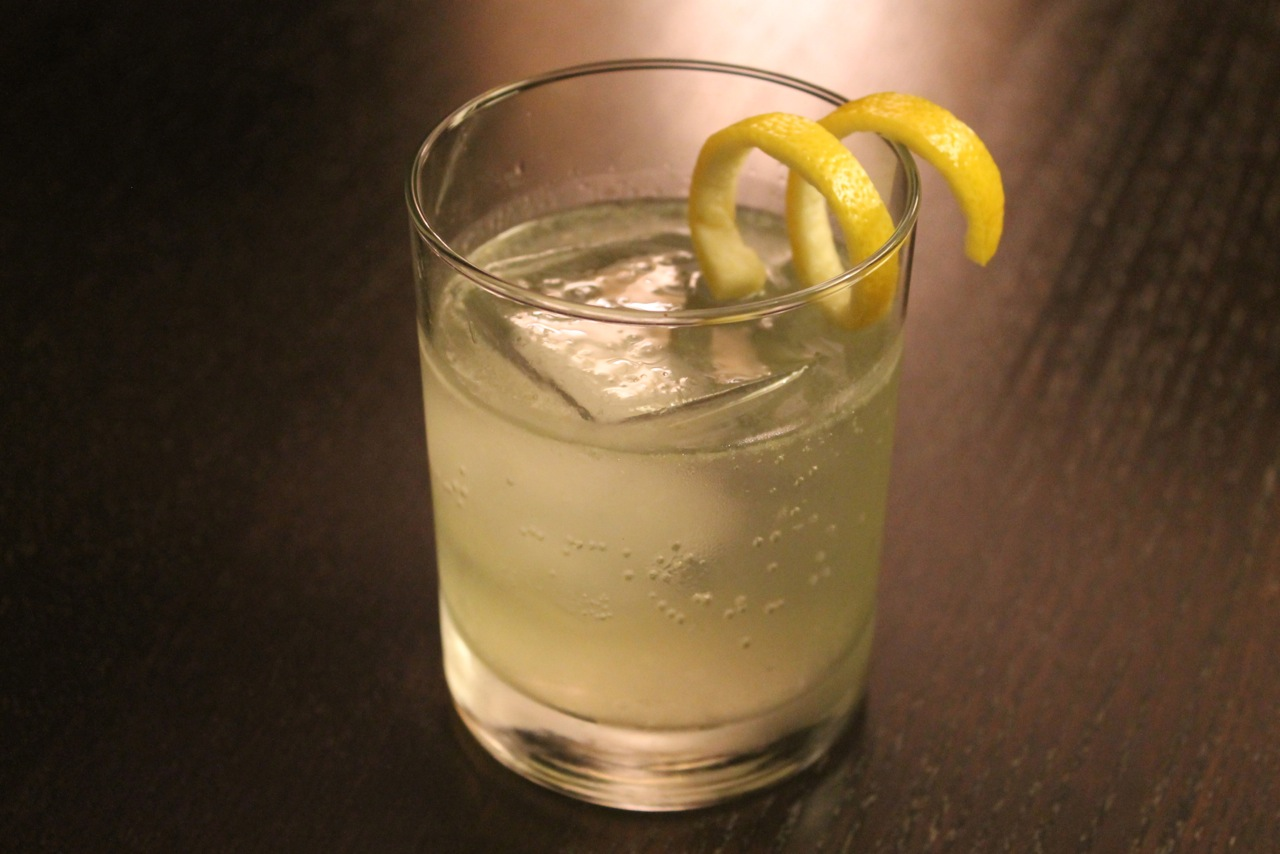 Cook In / Dine Out: Celery Tonic Cocktail
