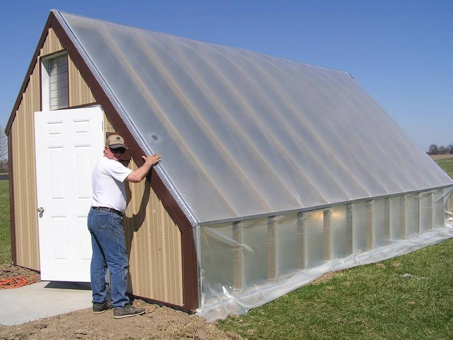 Asc Magazine Energy Efficient Greenhouses For Growing Food