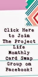 Project Life card swap