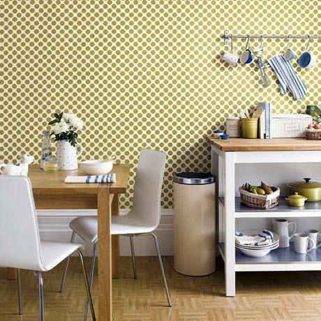 vinyl wallpaper for kitchens