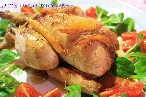la mia cucina improvvisata: galletto arrosto all'arancia - Come Cucinare Il Gallo